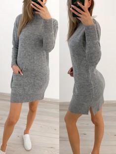 Soe kudumkampsun-kleit
