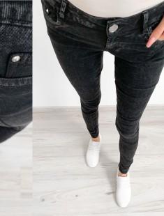 Stretšid mustas teksapüksid