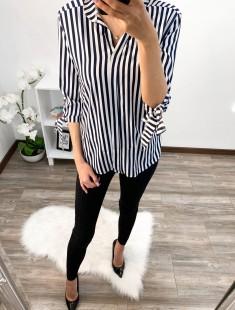Viisakas triibuline pluusi