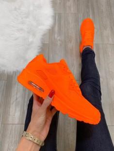 Air Max stiilis erk oranž vabaajajalats