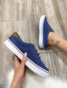 Denim stiili tennised