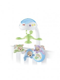 Fisher Price voodikarussell 3in1